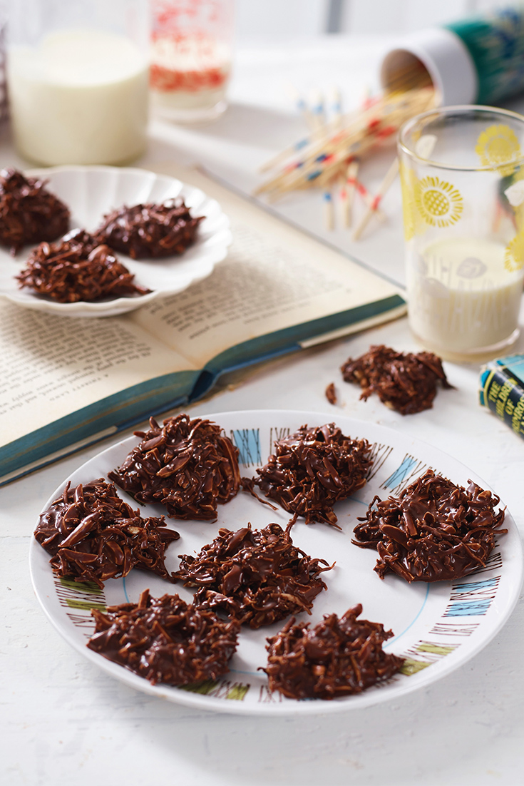 This easy coconut roughs recipe requires no-baking and makes for a fuss-free party snack or after-dinner treat.