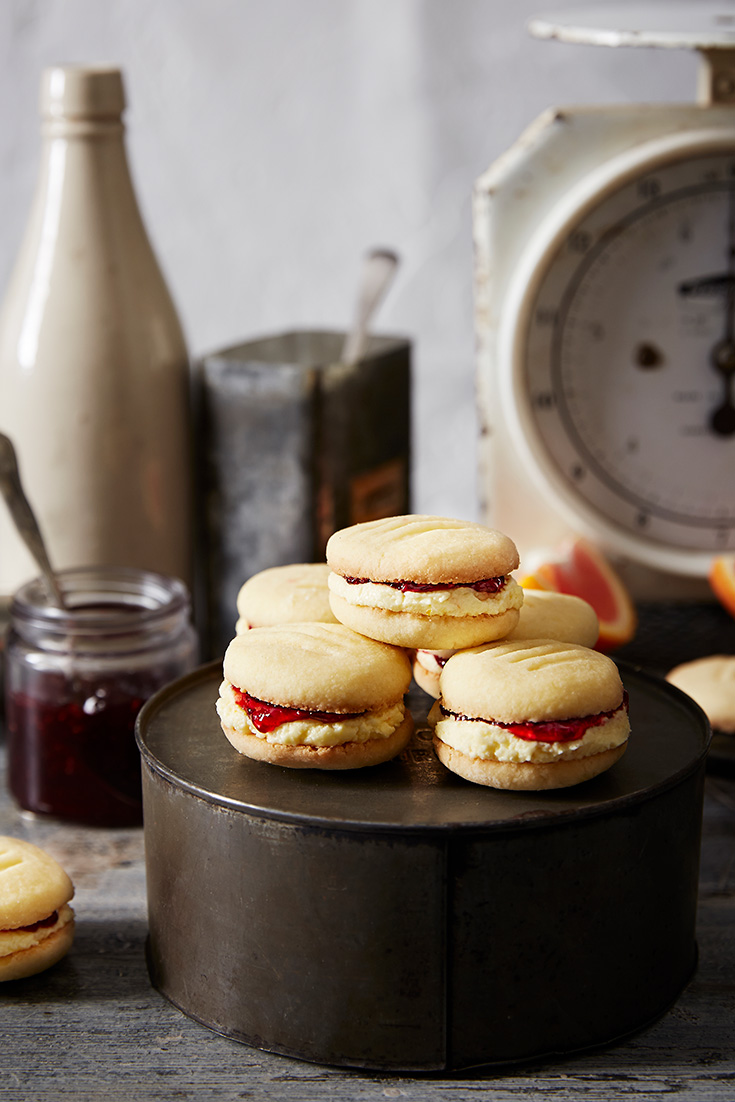 This classic melting moments recipe is the perfect afternoon treat.