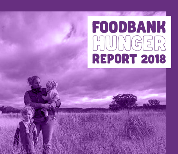 Foodbank Hunger Report 2018
