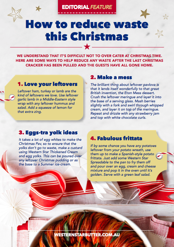 Tips to reduce waste this Christmas | myfoodbook | Food Stories