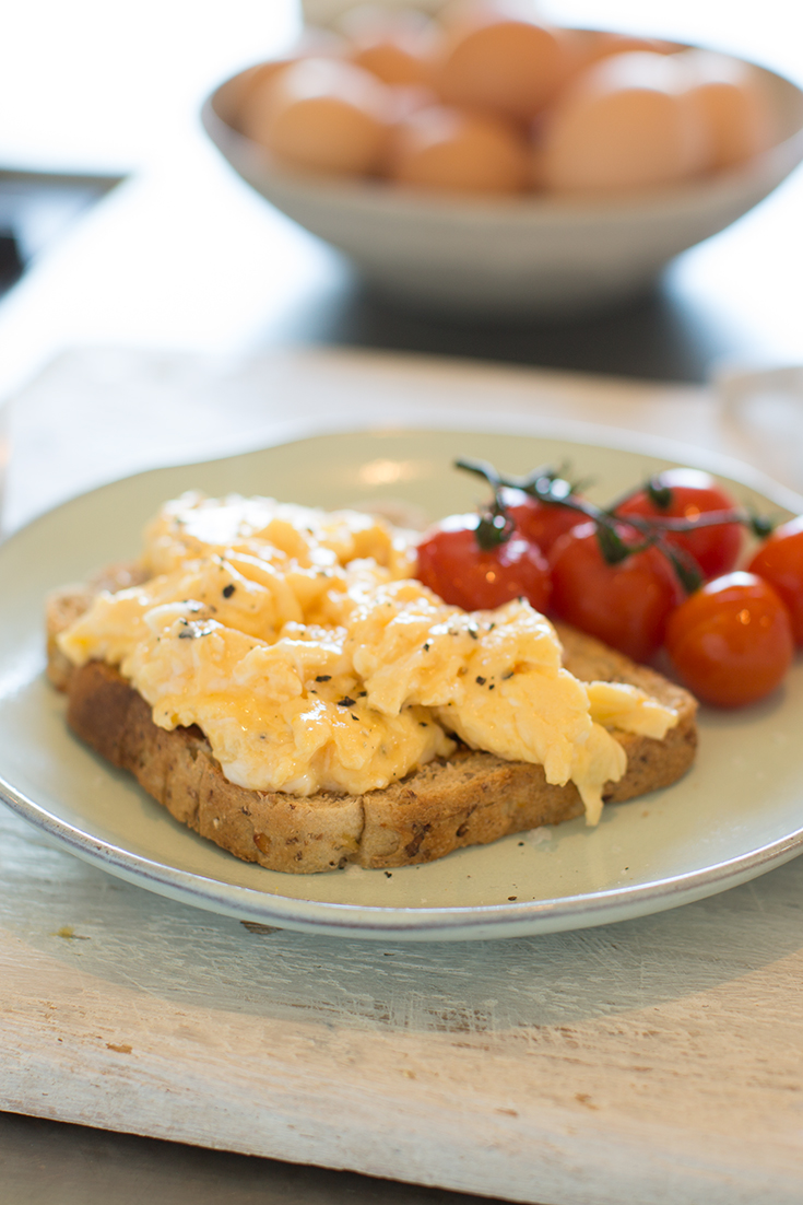 You guide to perfect scrambled eggs. Once you've mastered scrabbled eggs you'll never look back.