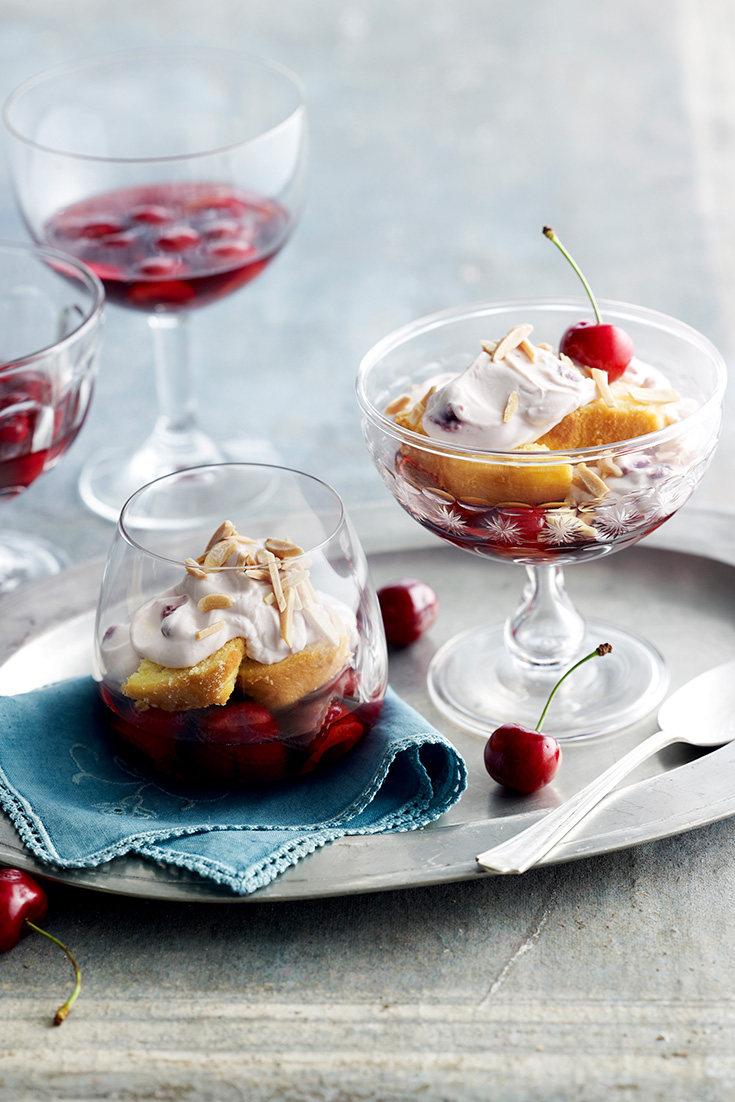 This easy very cherry trifle recipe is the ultimate dessert to enjoy this festive season.