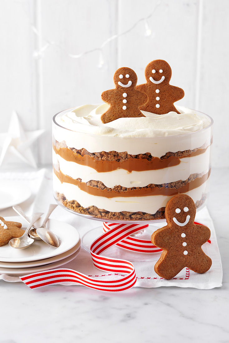 This easy gingerbread and caramel trifle is the perfect dessert to enjoy this festive season.
