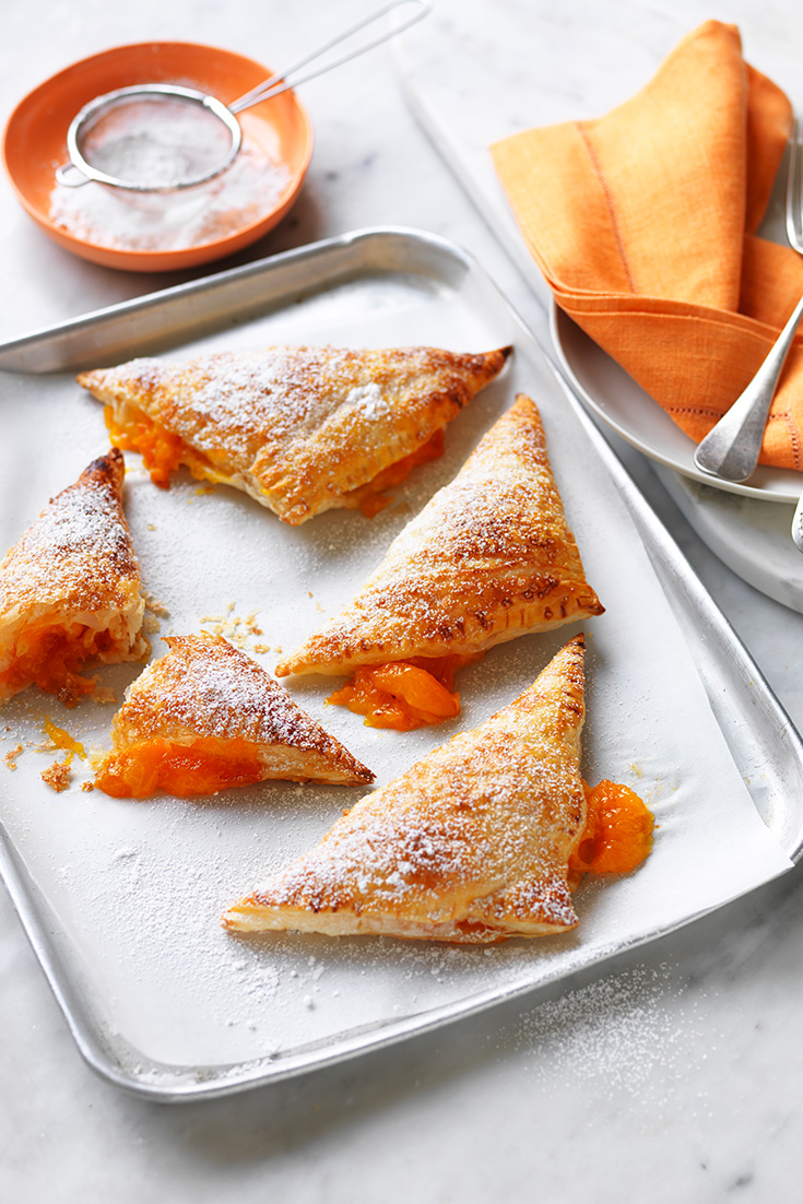 These easy apricot turnovers are a great mid-week dessert idea.