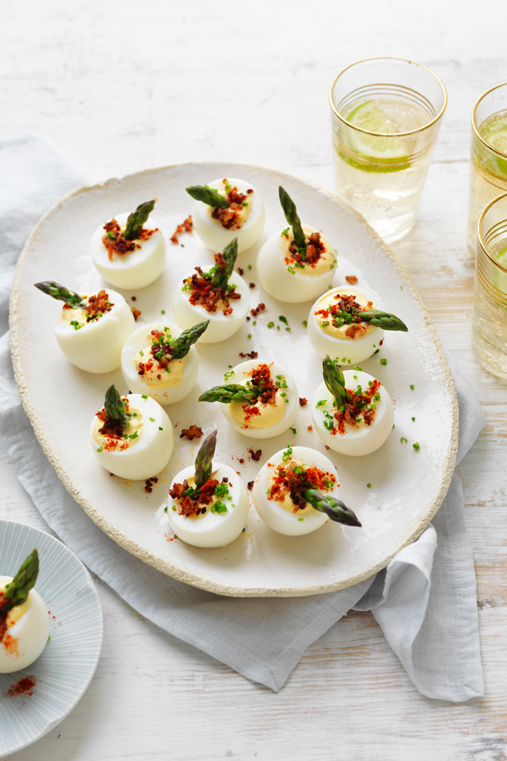 This easy devilled egg recipes is the perfect last-minute Christmas recipe.