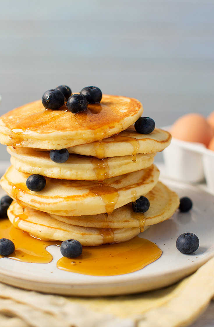 Make this easy pancake recipe for kids for Pancake Tuesday. It makes fluffy pancakes.