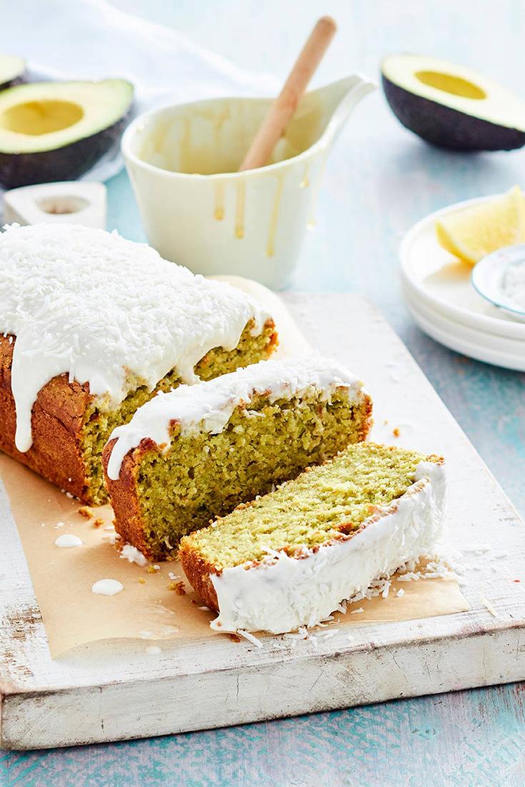 Use avocados to make this dairy free cake recipe