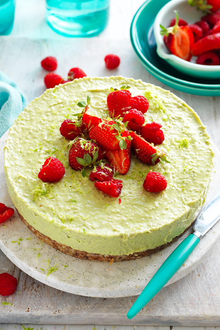 why avocados make great desserts like this vegan cheesecake